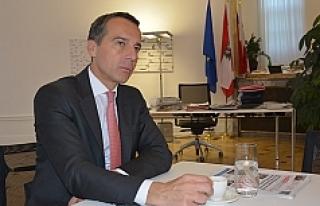 Avusturya Başbakanı Kern'den Gazetemize Önemli...