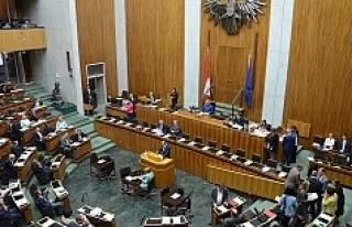 Avusturya parlamentosunun mobilyaları internette...