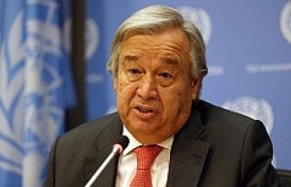BM Genel Sekreteri Guterres'ten terörle mücadele...