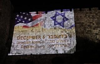 ABD, Kudüs'ü İsrail'in başkenti olarak...
