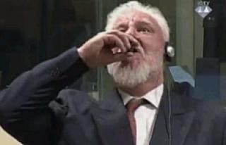 "Eski Hırvat general ""potasyum siyanür""..."