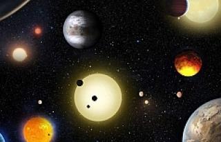 'Keşfedilen 7 gezegenden 2'sinde yaşam...
