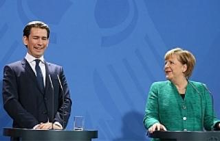 Merkel ve Kurz, AB'nin dış sınırlarını...