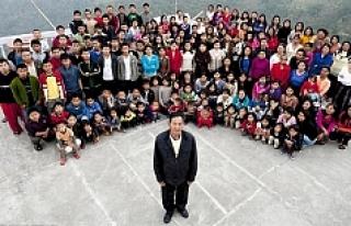 39 eşli 94 çocuklu marangoz!