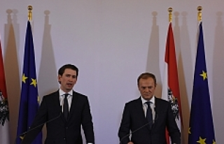 AB Konseyi Başkanı Tusk Viyana'da