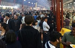 """Avustralya'daki """"gece pazarı"""" turistlerin..."""