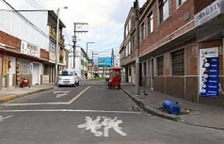 Kolombiya'nın başkenti Bogota'da 'arabasız...