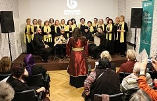 Viyana'da Türk ve Boşnak sanatçılardan resim...