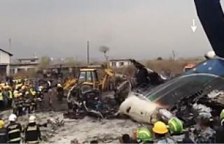 67 kişiyi taşıyan yolcu uçağı düştü!