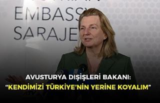"""Avusturya Dışişleri Bakanı: """"Türk halkına..."""