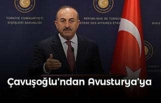 """Çavuşoğlu: """"Dün Yahudiler hedefti, bugün..."""