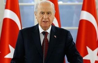 MHP lideri Bahçeli'den seçimlerle ilgili ilk...