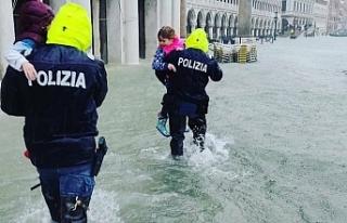 İtalya'yı fırtına vurdu