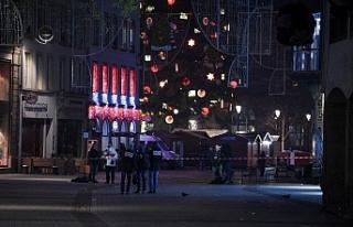Noel Pazarı yakınında silahlı saldırı: 3 kişi...