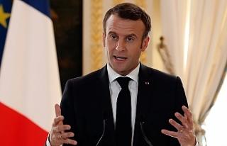 Macron siyasal İslam'ı 'tehdit' olarak...