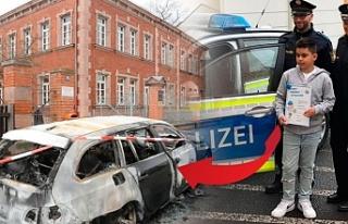 Alman polisinden Kenan'a 'Süper Kahramanlık'...