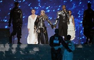Madonna, İsrail'deki Eurovision finaline Filistin...