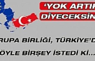 AB Türkiye'den Rusya için yaptırım istiyor