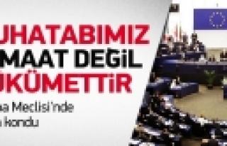 """""""Avrupa Parlamentosu Gülen tartışmasına noktayı..."""