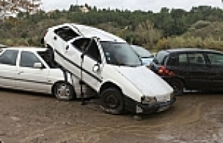 Avrupada bir sel felekati daha: 5 ölü!