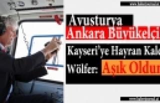 ''Avusturya Ankara Büyükelçisi Wölfer'in Erciyes...