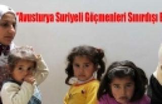 ''Avusturya, Suriyeli Göçmenleri Sınırdışı...
