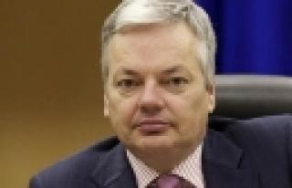 ''Belçika Dışişleri Bakanı Reynders, Şanlıurfa'da''