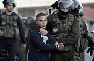 Bir yılda 6 bin Filistinli gözaltına alındı
