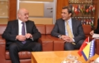 ''Bosna Hersek Başbakanı Bevanda İTO'yu ziyaret...