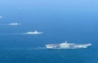 ''Çin'in uçak gemisi Liaoning ilk kez görüntülendi''