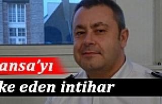 Dergi saldırısını araştıran komiser intihar...