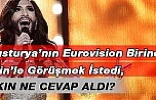 Eurovision birincisi Wurst, Putin'le görüşmek...
