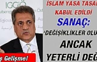 Flaş Gelişme! İslam Yasa Tasarısı Kabul Edildi:...