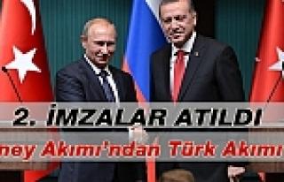 Gazprom'dan 'Türk Akımı' İçin İkinci İmza