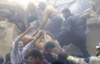 'Halep'te ekmek fırınına saldırı: 13 ölü'