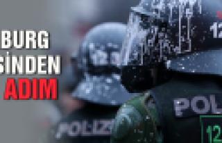 'Hamburg polisinden geri adım''