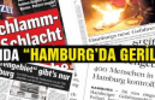 ''Hamburg'daki Gerilimin Basındaki Yeri''