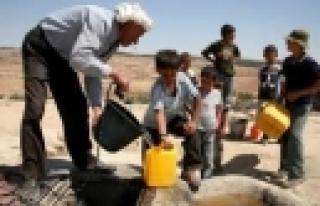 """""""Kein Wasser für Palästinenser im Jordantal!"""""""