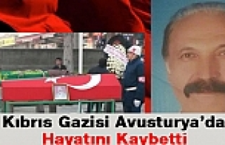 Kıbrıs Gazisi Avusturya'da Hayatını Kaybetti