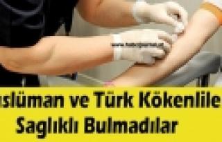 ''Kızılhaç'ta 'Türk ve Müslüman kanı istemiyoruz'...