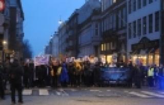 ''Kopenhag'da NSA dinlemelerine protesto''