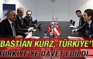 Sebastian Kurz'a Türkiye Daveti