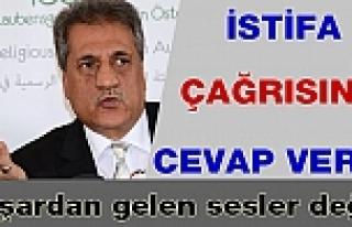 İslam Cemaati Başkanı Sanaç'tan, İstifa Çağrısına...