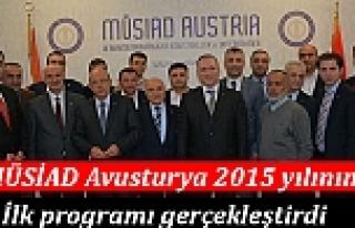 MÜSİAD Avusturya 2015'in ilk programını gerçekleştirdi