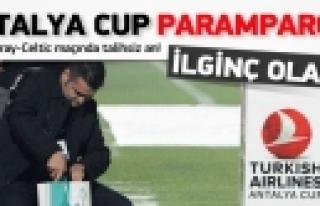 ''Thy Antalya Cup Final Maçı öncesi Talihsizlik''