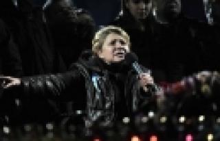 """""""Timoşenko Bağımsızlık Meydanı'nda!"""""""