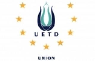 """''UETD'nin """"Milli İradeye Destek Konvoyu"""" Viyana'dan..."""