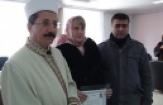''Ukraynalı Lilia, Müslüman olup