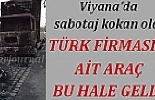 Viyana'da sabotaj kokan eylem: Türk firmasına...