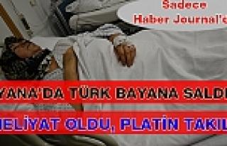 Viyana'da Türk Kökenli Bayana Saldırı: Ameliyat...